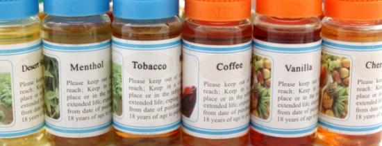 E-Cigarette Kit E-Liquids