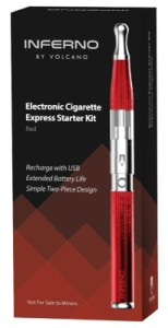 Types of eGo E-Cigarettes Volcano Inferno Express Kit