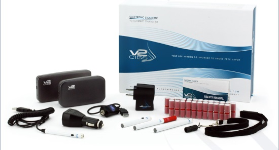 V2 Cigs Ultimate Electronic Cigarette Kit