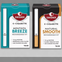 Swisher Releases Line of E-Cigarettes