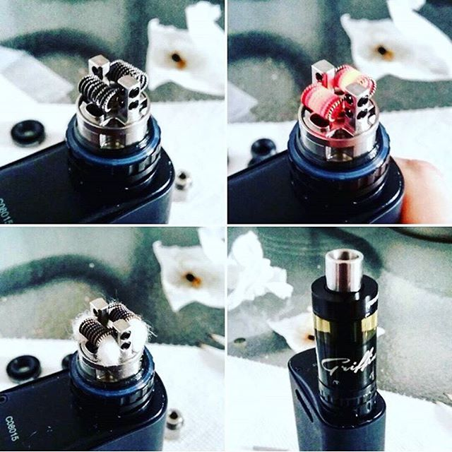 Flooded RTA Atomizer