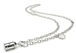 Sterling Silver Link Charm E-Cigarette Stocking Stuffer