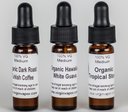 Virgin Vapor Organic Sample Pack