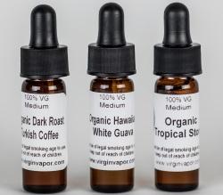 Virgin Vapor Organic Sample Pack