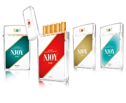 NJOY Kings Best Disposable E Cigarette 2015