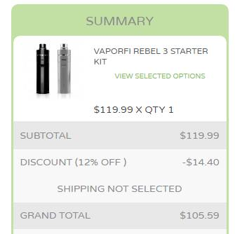 How to Use VaporFi Coupon Code