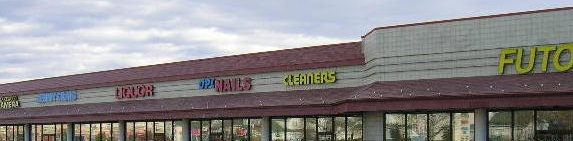 Bad Strip Mall Logos