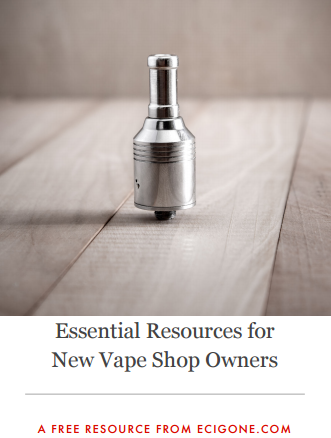 Download the eCig One Vape Shop Resource List Now