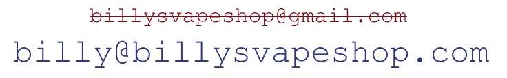 Vape Shop Professional Email Address