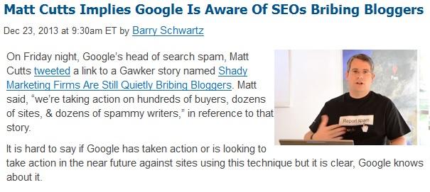 Shady Vaping SEO Google Penalty