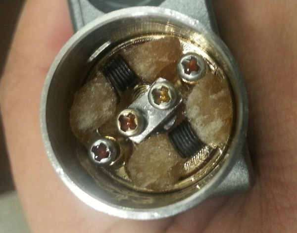 Dirty Wick Coil Gunk