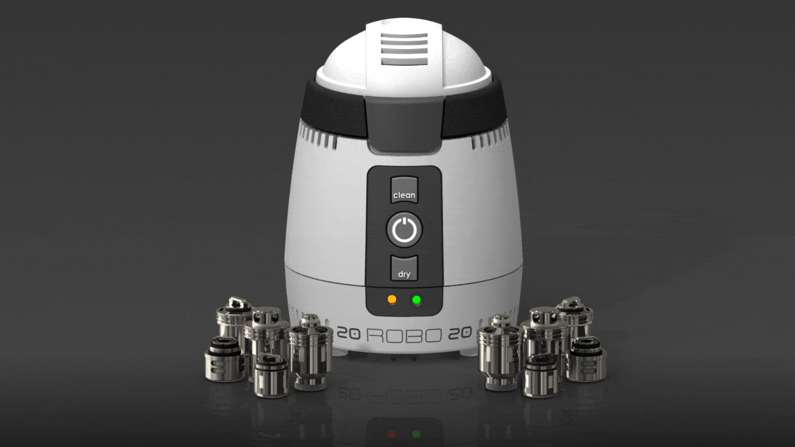 ROBO2020 Automatic Vape Coil Cleaning and Drying Machine: Review