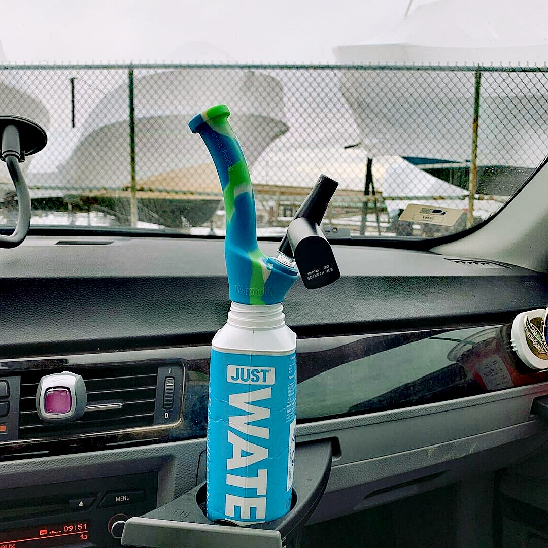 Universal Traveler Water Bottle Pipe